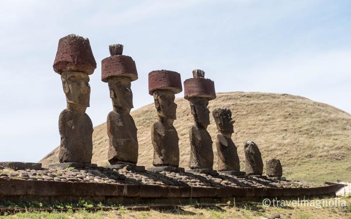 Anakena Moai