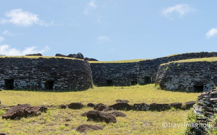 Orongo Stone Houses Birdman Cult_
