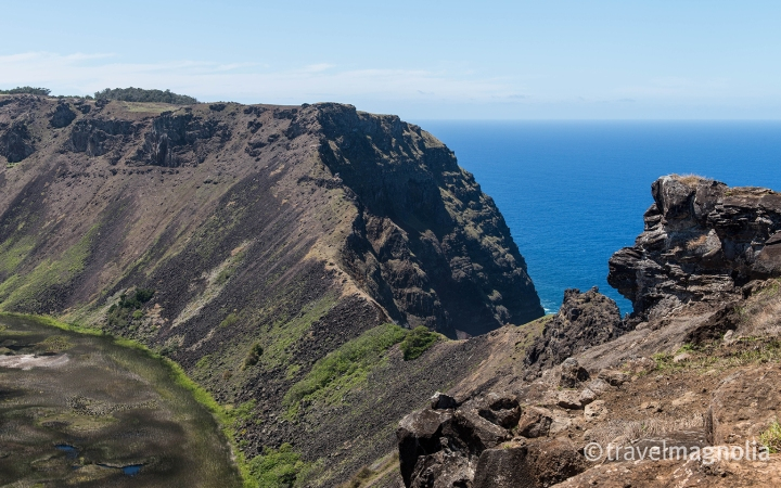 Rano Kau Cliffside