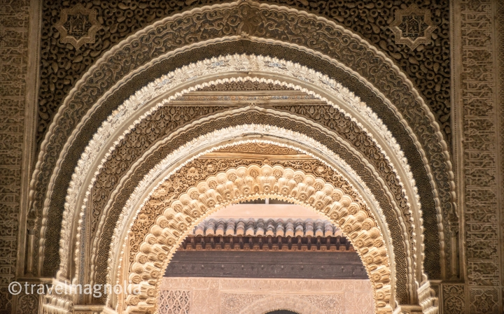 Nasrid Plasterwork Alhambra Granada-2