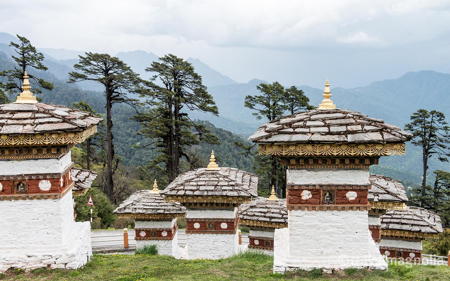 108 Stupas Dochula Pass Bhutan