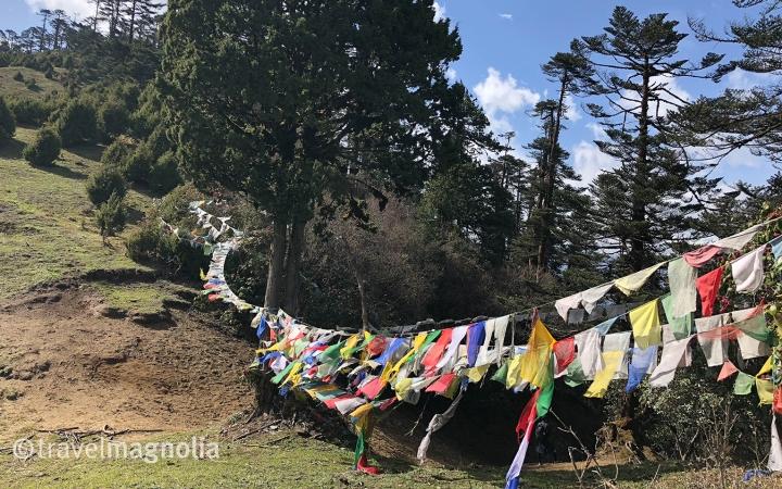 Phobjika_PrayerFlags_Kumbu la Pass