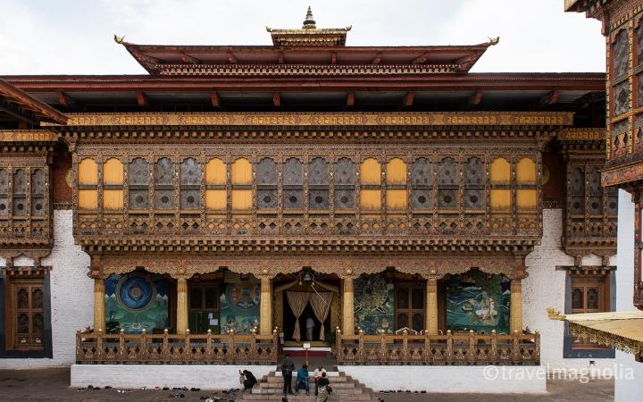 Punakha_Dzong Interior Courtyard