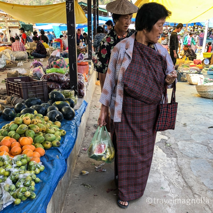 Punakha_Women at Market