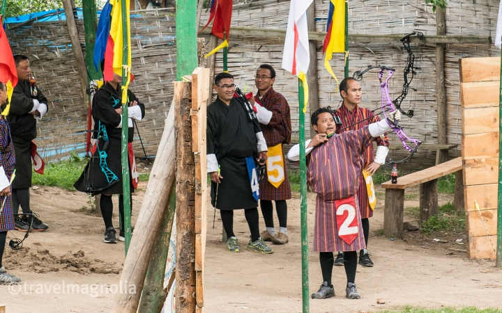 Bumthang_Archery Competition