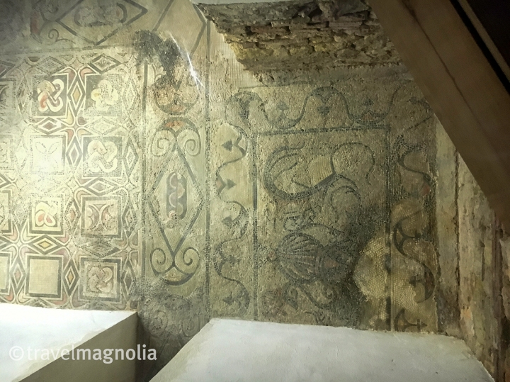 6th century mosaics Visigoth Basilica St. Vicente