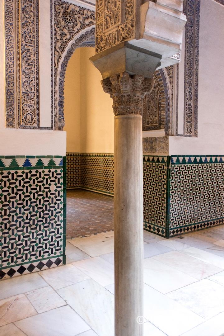 Architectural Detail Alcázar Seville