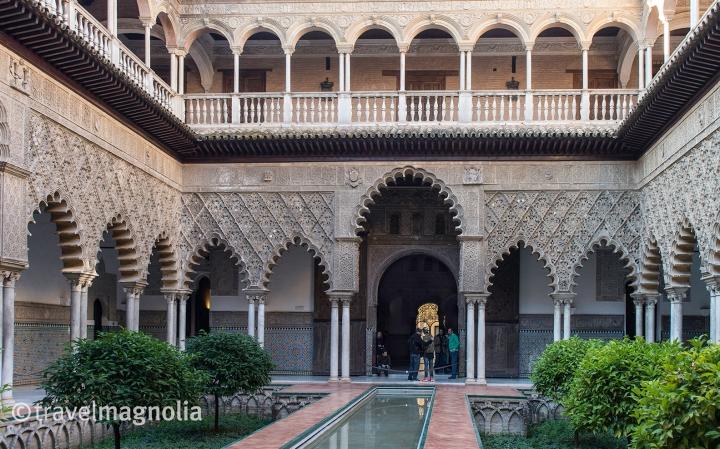 Real Alcázar Seville Courtyard