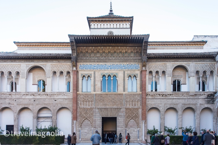 Real Alcázar Seville Entrance